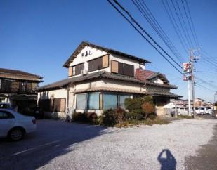 売店舗+別棟 南房総市和田町松田 2,080万円
