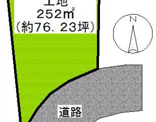 売地 鴨川市宮(サンクレメンテ) 190万円